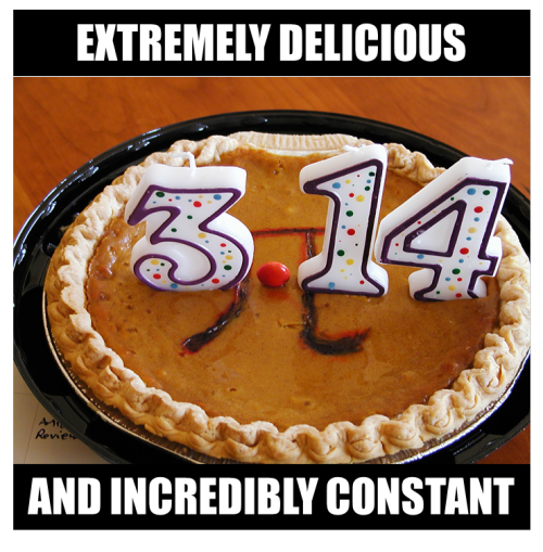 Happy Pi Day? Ok, we get it, nerds are good at cooking too.