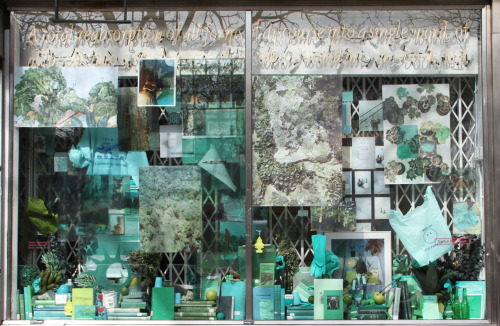 My window installation for Printed Matter