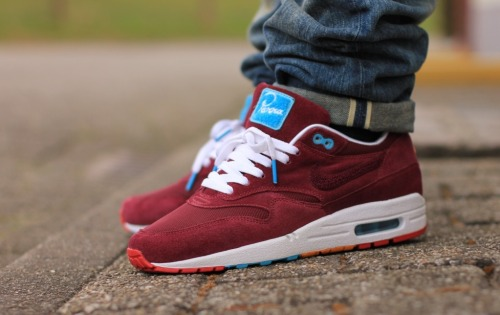 airmaxera:  Air Max 1 x Parra - Cherrywood the Air Max Paradise