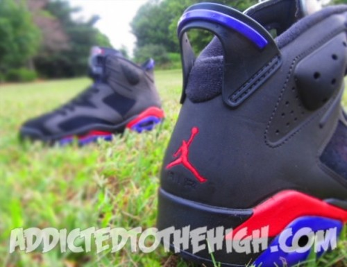"Air Jordan 6's ""Raptor"" Customs"