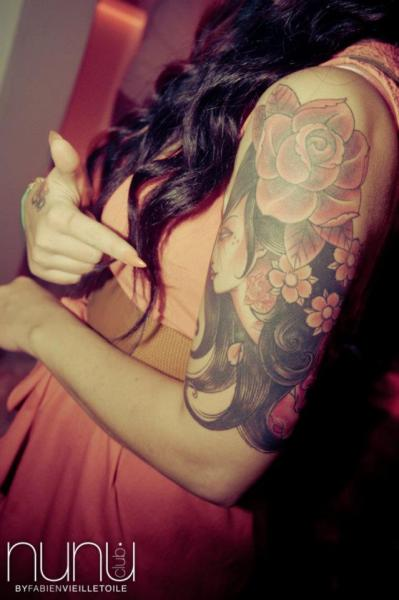 My beautifull half sleeve, so proud of it <3