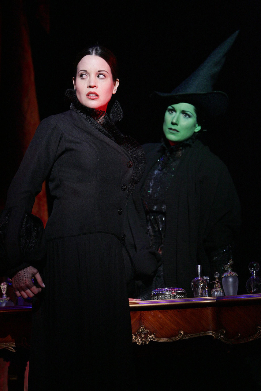 Jenna Leigh Green and Stephanie J Block