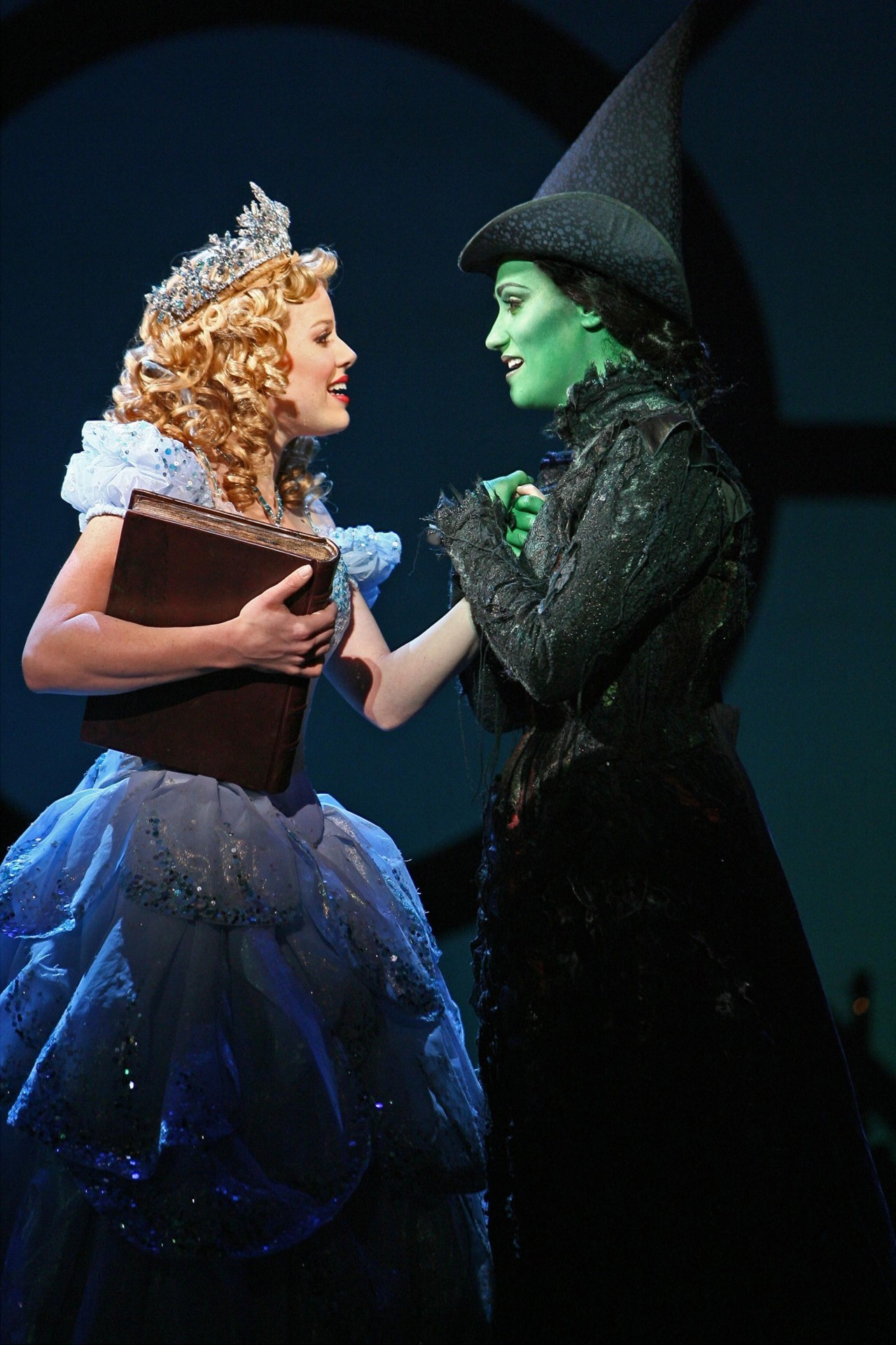Megan Hilty and Eden Espinosa