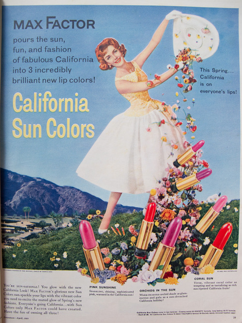 Max Factor: California Sun Colors