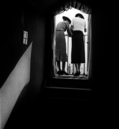 Bill Brandt, Eva and Lyena, Gelatin Silver Print Process, 1934