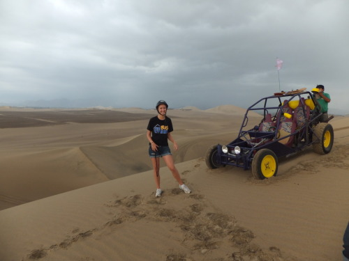 Dune Buggying in the desert in Ica!