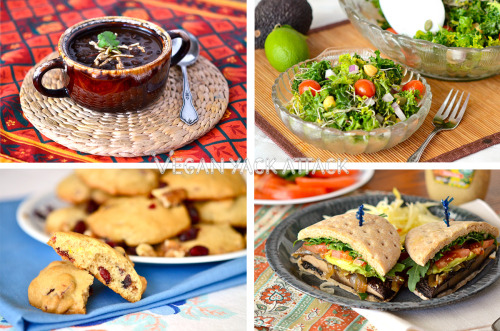 yackattack:  4 Healthy & Easy Recipes for New Vegans These recipes are based on the ideas of being healthy, utilizing whole foods, and being easy to make for those who are just getting into veganism or are vegan-curious. Check them out at Vegan Yack Attack!