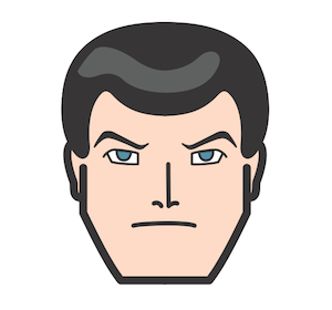 BY THE WAY. My Bruce Wayne icon is almosttt finished! I just have to tweak his eyes a bit… among other things.