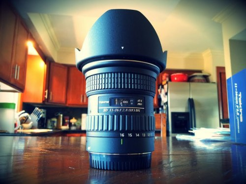 Tokina 11-16mm f/2.8, an awesome belated birthday present. Gonna have so much fun shooting this summer. This ultra-wide angle lens works great at night and in other low light environments.
