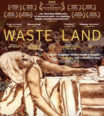 Just watched this. Amazing and beautiful. I LOVE Vik Muniz's work and was excited about finding this gem. Beautiful beautiful beautiful.