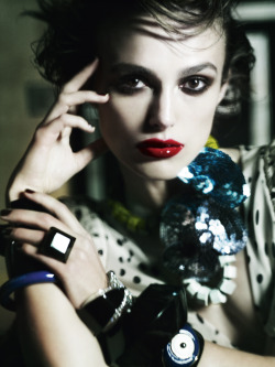 bohemea:  Keira Knightley: Renaissance Woman - Vogue UK by Mario Testino, January 2011