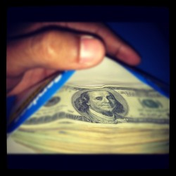 I'm Gettin 💰money💰!! What You Doin?? (Taken with instagram)