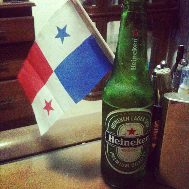 Casual en el escritorio #Heineken #Chill #Panamá  (Taken with instagram)