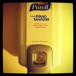 I think I'm The Only Nicca tht have this in there crib lol… Clean ya hands and feet be4 you get all the way in my house lol  (Taken with instagram)