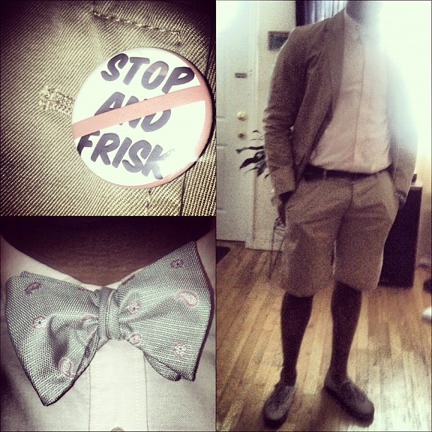 I dress according to my mood, this was mood today #iwore #pink #bowtie #spring #jacket #shorts #vans #workflow #mtss #morethanswagsociety  (Taken with instagram)