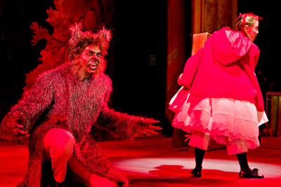 Hello, Little Girl: Wolf, meet Red… Into the Woods (by CENTERSTAGE_MD)