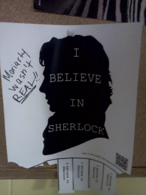 Stetson Sherlock person please let me know who you are…