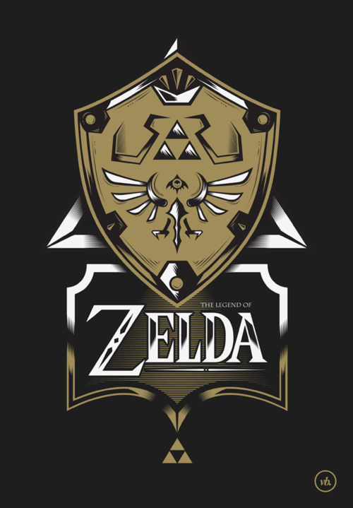 koldunkisloty:  The Legend Of Zelda // By: Victor Berbel