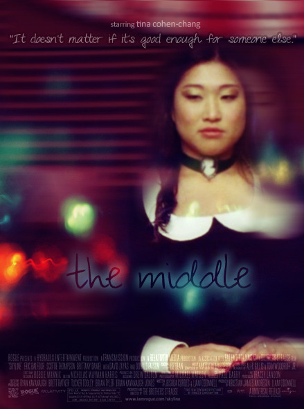 Glee Songs Wishlist as Featured Films: Tina Cohen-Chang stars in The Middle - In the small suburbs of Cowtown, Ohio, seventeen year old Annie is alone and misunderstood. Navigating through her senior year of high school, Annie learns to deal with being the middle child of five all the while trying to find her place in the world.