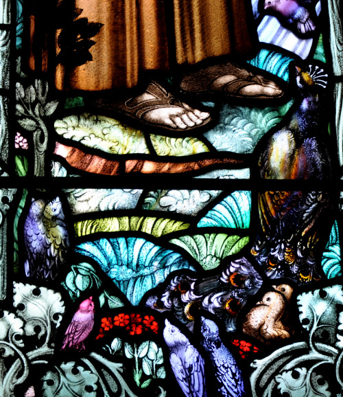 pmikos:  William Morris : stained glass window 1932
