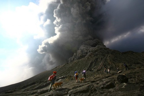 """Volcano Climbing: Indonesia's Gunung Bromo,"" by Marv and Jo"
