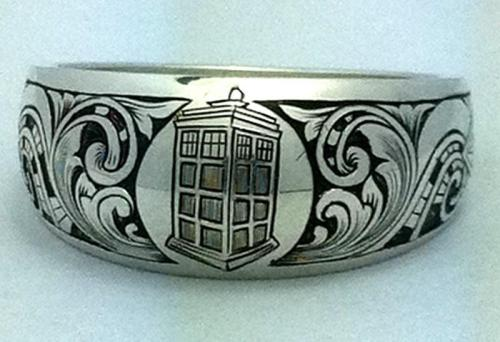 whospam:  The Engraver's Cafe - Sci-Fi Ring
