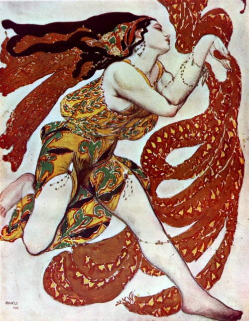 My Bohemian Aesthetic  Narcisse by Bakst, 1911