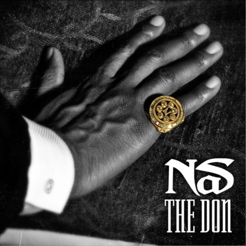 "Upcoming NAS Album Cover  ""THE DON"""