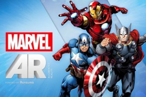 MARVEL LAUNCHES AUGMENTED REALITY COMICS  Marvel has announced its new 'ReEvolution' initiative with an augmented reality app called Marvel AR that will include digital extras for readers and a digital-only imprint called Infinite Comics, which will offer comics that tie-in with print titles.  Full Story: PFSK