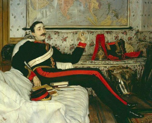 James Tissot Captain Frederick Gustavus Burnaby 1875
