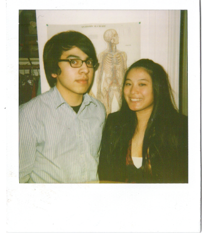 polaroidgang:  A rare sight, Cheo and Mae together!  omg LOLLLLLLLLLllllllllllllllllllllll i haven't seen you with long hair in so long!!!