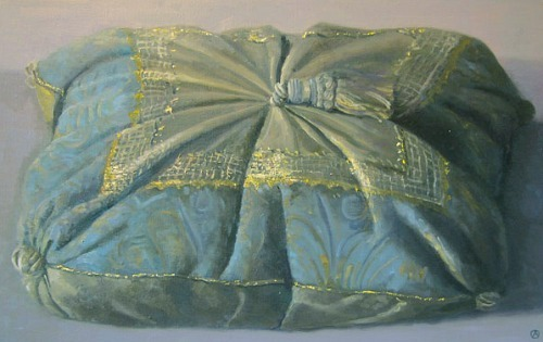 Olga Antonova Decorative Pillow 21st century