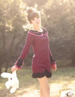 Sweet Petal Collar DressSize: FreeLength - 84cmBust - 88cmSleeve - 61cmShoulder - 35cm$45