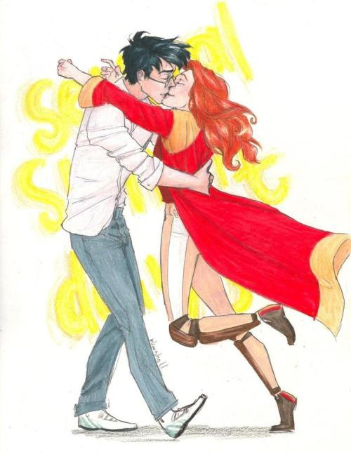 his-chosen-one:  Hinny! What everyone wanted to see in the movie…