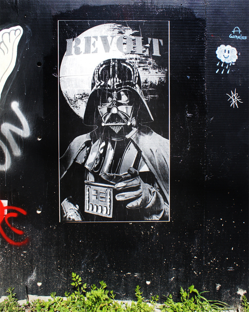 The Empire Wants You! A Revolt poster at the Baylor Street gallery in Austin. Picture taken by Mirgun1.