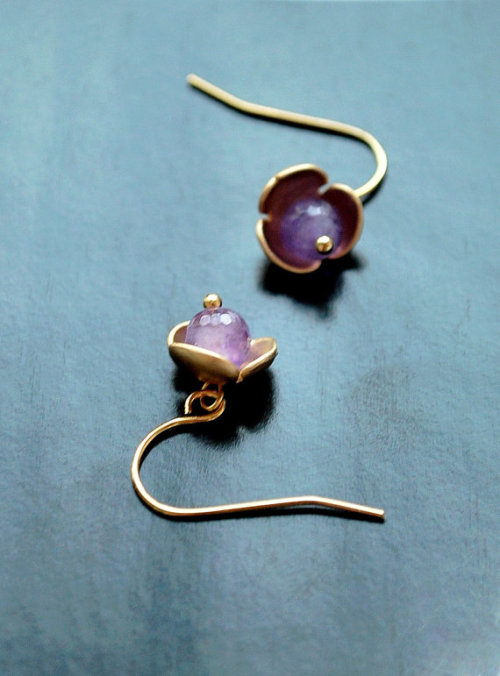 The amethyst blossoms are back in the shop!