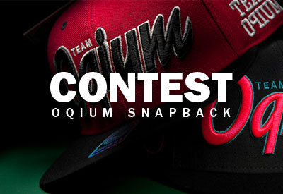 lacebag:  Follow Lacebag and reblog to win a Oqium snapback cap. To enter the contest with Facebook or Twitter check:http://www.lacebag.nl/oqium-snapbacks-2012/