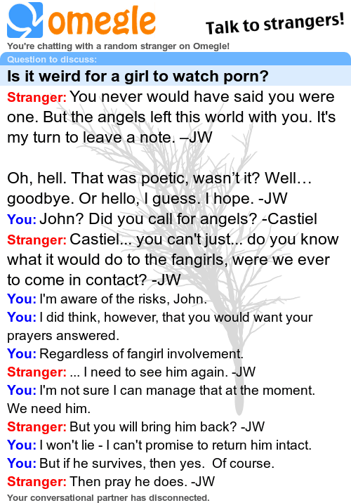 Sorry, John, the angels need Sherlock right now.