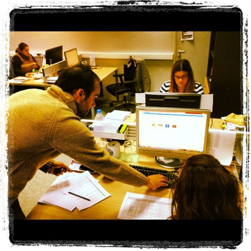 Manos Helen Anna at HQ (Taken with instagram)