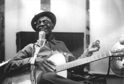 Lightnin' Hopkins (Mar 15, 1912 ~ Jan 30, 1982) legendary Texas Bluesman. flatlander40