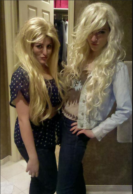 we are blonde goddesses