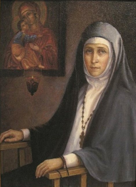 Holy New Martyr Elizabeth Feodorovna (commemorated on July 5)