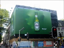 Creative beer advertising