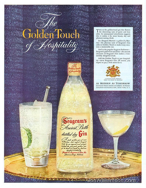 oldads:  Seagram's - 19531102 Life on Flickr.Website | Flickr | Tumblr | Twitter