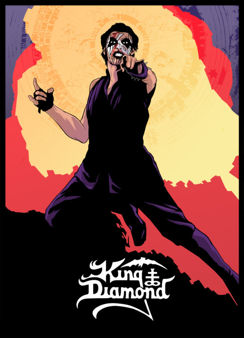 dangerousdays:  King Diamond; my all time favorite heavy metal musician.