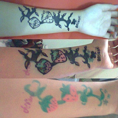 Henna Tattoo ♥ First, Second and Third :D
