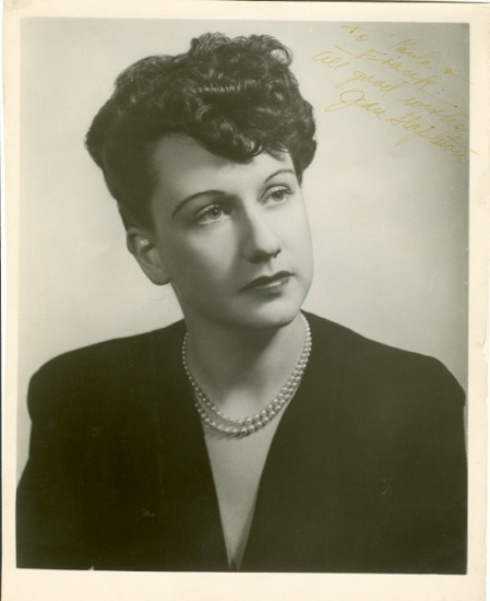 A young Jean Stapleton.