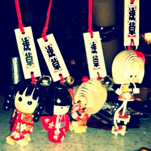 Little geishas (Taken with instagram)