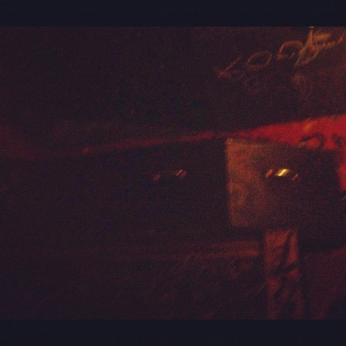 Coffin (Taken with Instagram at The Velvet Cave)
