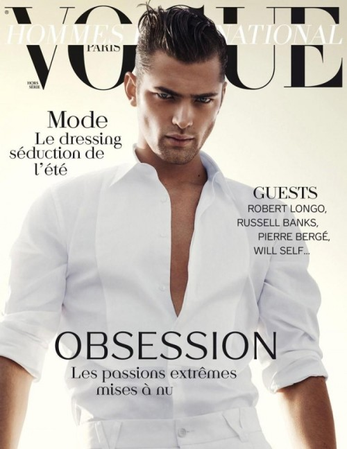 Sean O'Pry.David Sims.Vogue Hommes International.